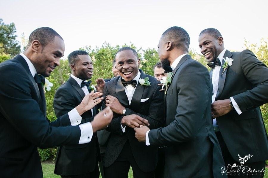 nigerian wedding destination cape town wani olatunde