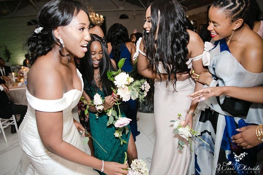 nigerian wedding la paris estate cape town wani olatunde