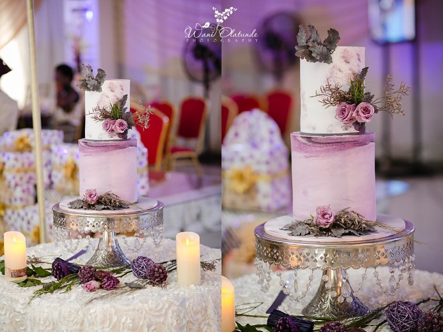 Livvy's Twist Wedding Cakes Wani Olatunde