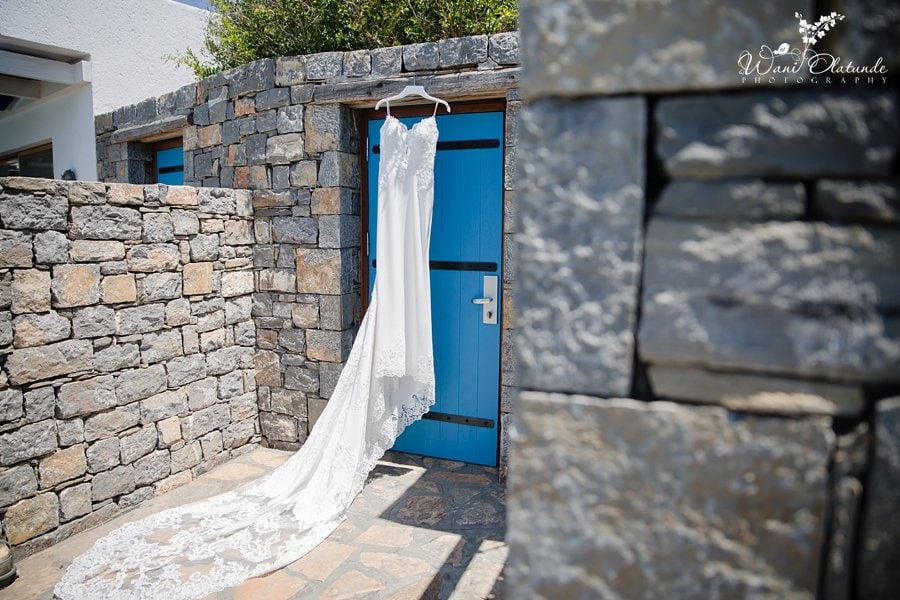 Bride Wedding Details Buckinghamshire Destination Wani Olatunde