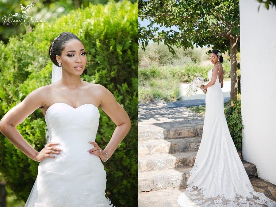 Beautiful Bride Buckinghamshire Wedding Wani Olatunde
