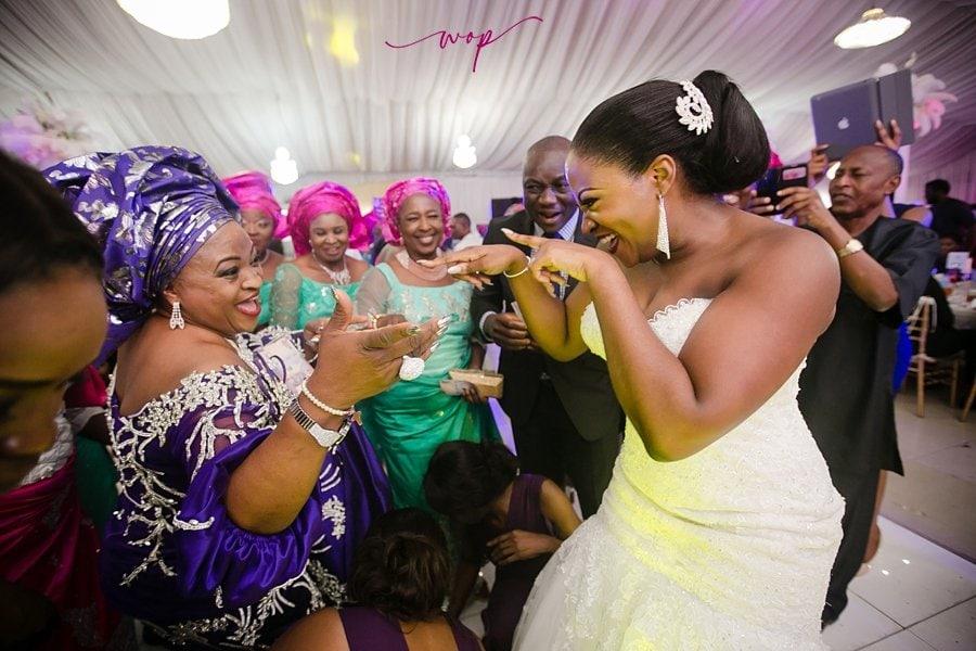 fun mother daughter wedding moment wani olatunde