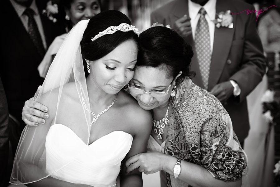 emotional mother daughter bride moment wani olatunde