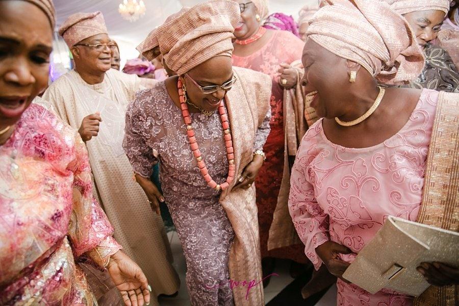 happy mother dancing wedding wedding wani olatunde