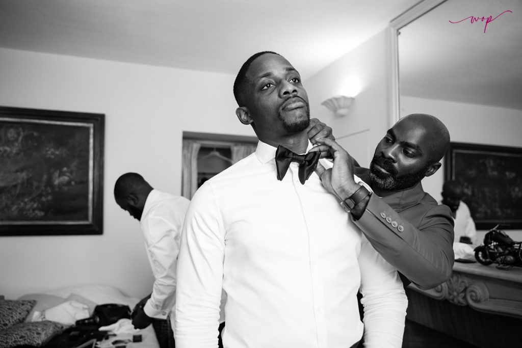 groom getting ready wani olatunde