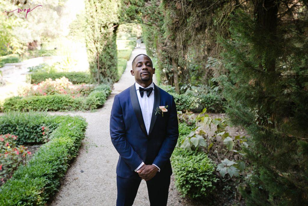 groom nervous first look wedding wani olatunde