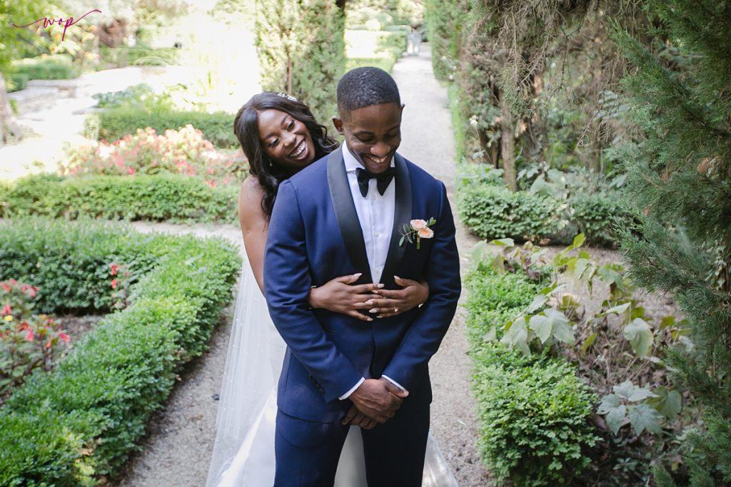 first look wedding wani olatunde