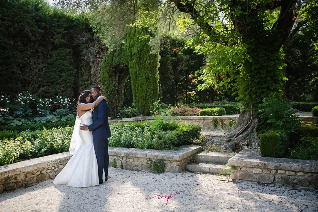 bastide du roy destination wedding gorgeous bride groom outdoors green wani olatunde