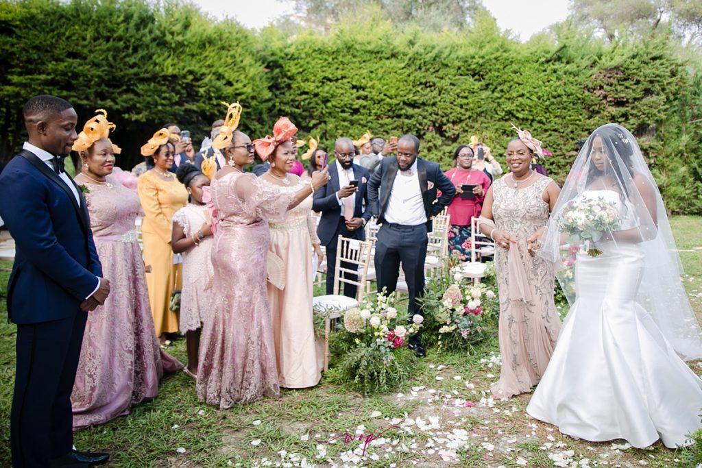 groom bride emotional ceremony wani olatunde