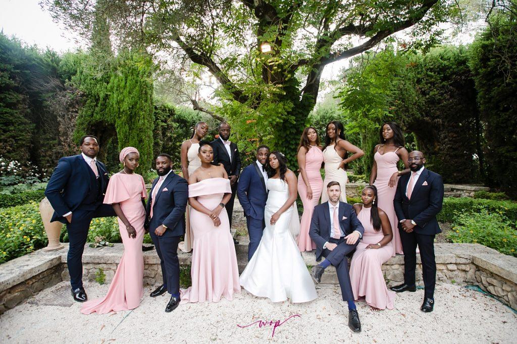 black excellence black couple wedding wani olatunde