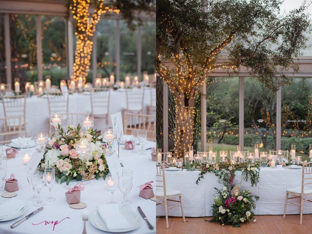candle light wedding details wani olatunde