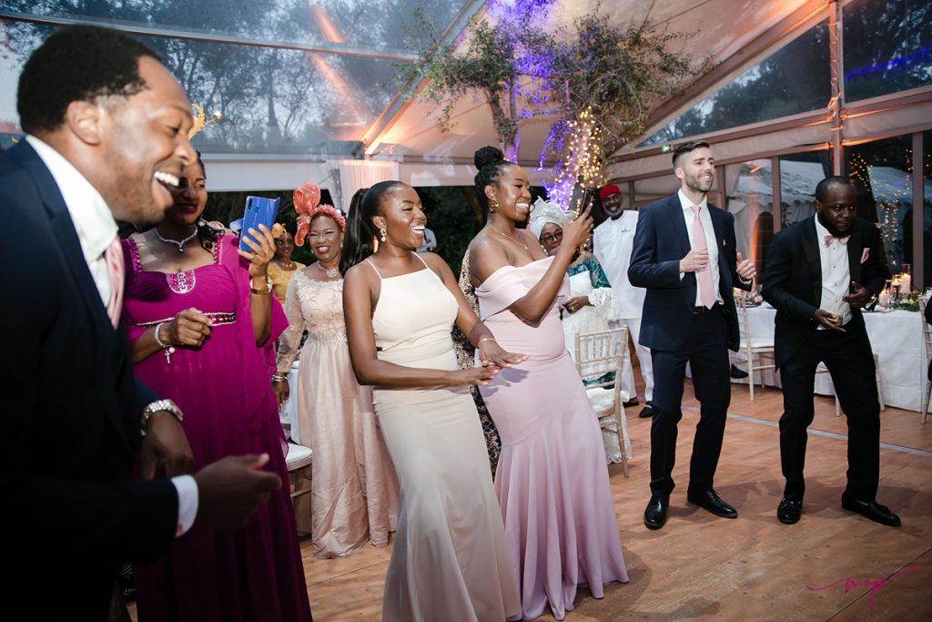 nigerian bride groom dancing wani olatunde